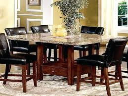 high dining room table and chairs marble high top table square counter height table marble high top