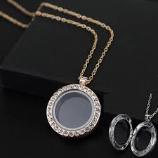 box lockets dropshipping photo box pendant necklace transparent