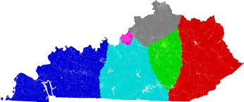 Ohio Congressional District Map by Kentucky Congress Redistricting
