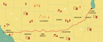 map trip route 66 how much it costs to take the 2 400 road trip money