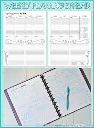 printable january 2016 weekly planner 106 best planner love print outs images on pinterest printables