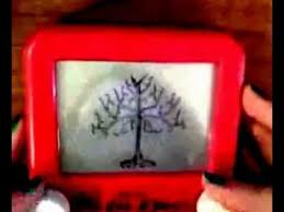 etch a sketch art tree of gondor youtube