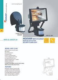 hoover lighting