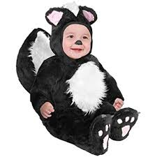 18 Month Halloween Costumes Boys Amazon Infant Baby Black Skunk Halloween Costume 18 24