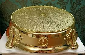 gold wedding cake stand fancy cake stand wedding cakes by hire gold stands canada