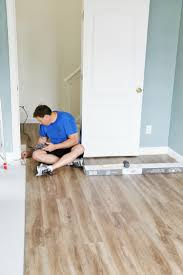 Laminate Floor Spacers How To Install Luxury Vinyl Plank Flooring Sand And Sisal