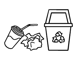 recycling coloring pages 28 images earth day printable