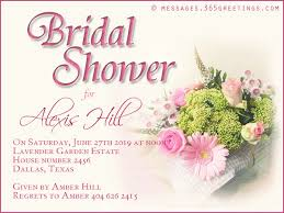 bridal invitation wording wedding shower invitation wording sles wordings and messages