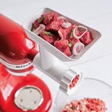 sur la table food processor kitchenaid stand mixer food grinder attachment sur la table