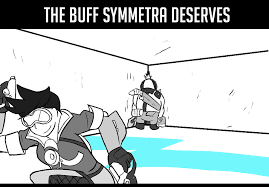 Jesus Christ How Horrifying Meme - the buff symmetra deserves ceea0a 6057427 jpg