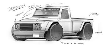 land rover drawing vwvortex com artwork land rover defender truck wow