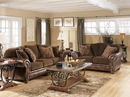 Ideas Classic Living Room Design Brown Furniture laurencemakano