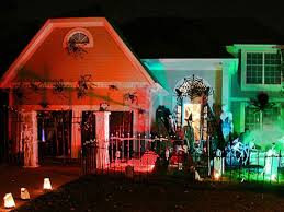 Haunted House Decorations Diy Halloween Charm Hgtv