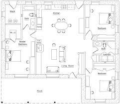 3 bedroom earthbag house plans