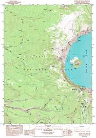 maps of crater lake national park crater lake institute