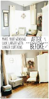 the right way to hang curtains