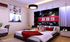 master bedroom design ideas in romantic style with young couple