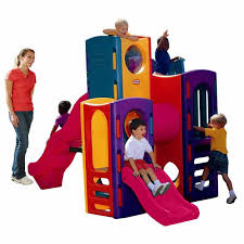 Backyard Playground Slides by Outdoor Backyard Playground Set Little Tikes