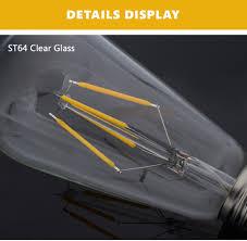 Esszimmer Lampe Kerzen E14 E27 Led Filament Glühbirne Kerzen Kugel Birne Faden Lampe