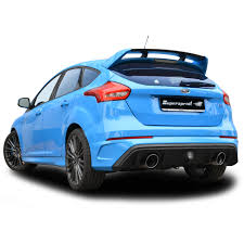 ford focus 2015 rs performance sport exhaust for ford focus rs mk3 ford focus rs 2 3
