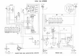 fiat spider wiring diagrams diagram relay locations key alternator