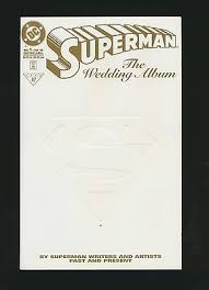 comicsvalue superman the wedding album comics value