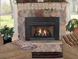 living room classic wall fireplace insert design rocks living