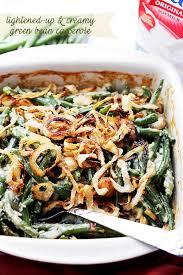 lightened up green bean casserole recipe diethood