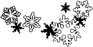 beautiful snowflake clip art and coloring pages that you can print