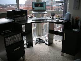 Modern Corner Desk by Complete Interior With Corner Desk Bedroom Ideas