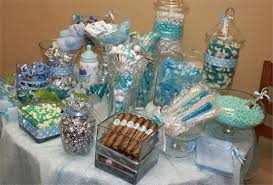 baby shower table centerpieces baby shower sweet table ideas esfdemo info