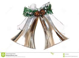 silver bells christmas ornament stock images image 16858984