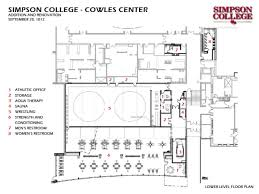 cowles carse rennovation floor plans simpson