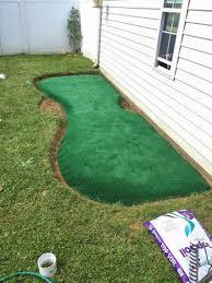 backyard putting green diy ct outdoor