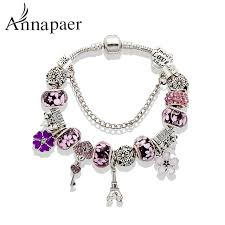 bangle style charm bracelet images Buy 2016 new fashion mix style charm bracelet for jpg