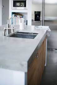 light colored concrete countertops concrete countertops kitchen a white family home with touches of
