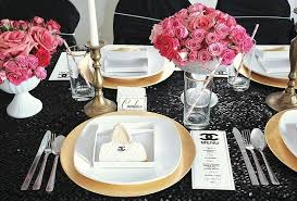 Chanel Party Decorations Party Themes Inspiration Page 208 Of 338 Outdoor And Indoor