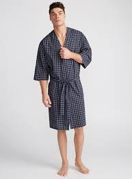 robe de chambre pour homme le peignoir kimono popeline à carreaux le 31 magasinez les robes