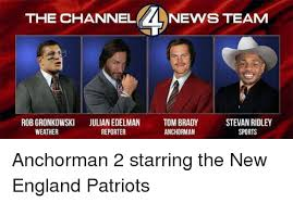 the channel nevvs team robgronkowski julian edelman tom brady stevan