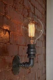 Wall Sconce Lighting Ideas Best 25 Industrial Wall Lights Ideas On Pinterest Vintage Wall