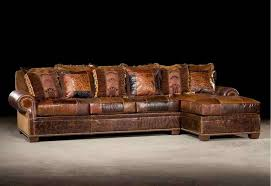 Reclining Leather Sectional Sofa Rustic Leather Sectional Sofas Best Home Furniture Design