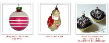 history of ornaments ornaments to remember