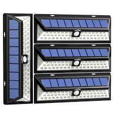 litom solar lights outdoor litom solar lights outdoor 54 led super bright wide angle solar