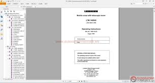 liebherr ltm 1400 7 1 operating instructions auto repair manual