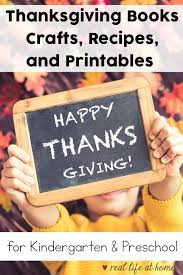 eleven thanksgiving books crafts printables recipes and more
