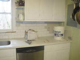 White Subway Tile Kitchen Backsplash by Subway Tiles Colors Home Decor