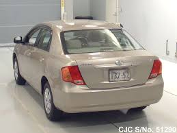 2007 toyota corolla axio beige for sale stock no 51290