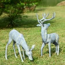 design deer statues outdoor decor decor furniture