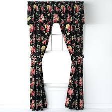 Black Floral Curtains Black Floral Curtains Alpals Info