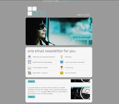 free e newsletter templates 30 useful newsletter design showcases one email newsletter with template builder a